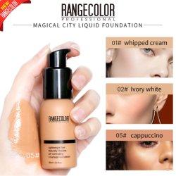Private Label Duradera Cobertura completa el maquillaje líquido Fundación para la piel oscura, Natural, piel blanca