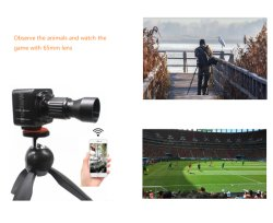 Wireless 65mm Objektiv, um die Tiere zu beobachten und zu beobachten GameMini IP-Kamera