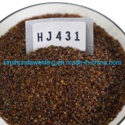 HJ 431 فلورسنت من النوع High-Manganese High-Silicon Low-fluine Flux