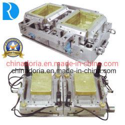 2cavity koel/de Hete Pas van de Agent/Vorm van de Injectie van de Doos van de Omzet de Plastic