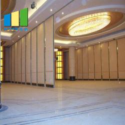 高防音性能吸音性可動壁中国用 ウエディングホールパーティションウォール