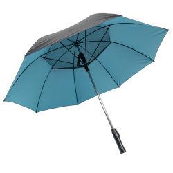 Nuevo e innovador Protcet UV paraguas puede cobrar un cargador de teléfono celular el ventilador USB paraguas con