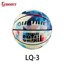 Баскетбольная Aibort шарик индивидуальные кожаные размер 28,5 баскетбол (LQ-3)