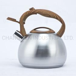 El silbido de acero inoxidable de 3,0 litros hervidor de agua Mango de nylon menaje de cocina utensilios de cocina