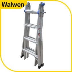 Multiuso de Alta elasticidade aparente escada andaimes Alumínio dobrável