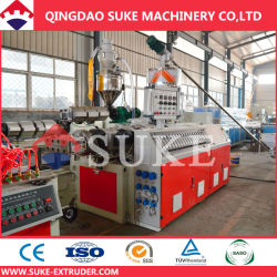 WPC Wood Plastic Profile Plank Extrusion Production Making Line