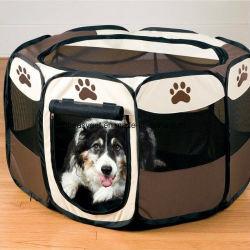 Le Parc de l'exercice pliable portable Pet Kennel Chiens Chats maille amovible intérieur/extérieur de l'ombre de couvrir les nouvelles petites Pet bleu chien chat tente de jouer de l'exercice ESG10173