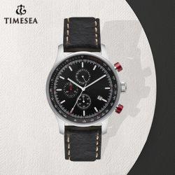 Commerce de gros de montres montres à quartz de luxe Logo personnalisé Chrono Watch (72610)