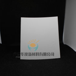 Placa de forro de Alumina em cerâmica como lonas resistentes a abrasão