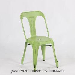 Salle à manger Tolix industriel Vintage en métal couleur de la Chaire de multipl antique