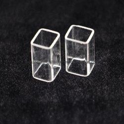 La plaza libre de plomo de cuarzo claro Tubo de vidrio de sílice fundida