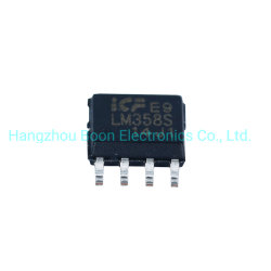 Circuito integrado LM358 Chip IC para circuito amplificador CI Geral Componente Eletrônico