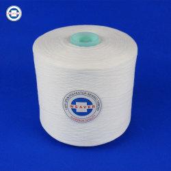 De semi Saaie Ruwe Witte 62/3 100pct Gesponnen Naaiende Draad van de Polyester