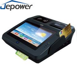 Jepower Android Tablet POS hacer funcionar el sistema de soluciones de pago con tarjeta
