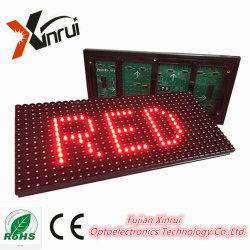 Piscina/Semi-Outdoor P10 Módulo de LED de cor única tela de texto