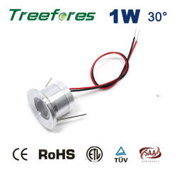 mini LED riflettore della lampadina di 1W 12V
