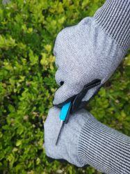 Гладкая бумага с покрытием Nitirle Anti-Cutting нитриловые ближний свет защиты рабочие перчатки