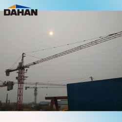 Dahanの上の回転のタワークレーンQtz100 (6013)
