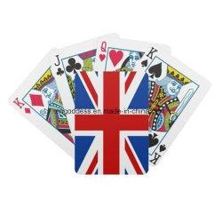 De volledige Aangepaste Reclame Playingcards, Pook, de Doos van de Kleurendruk van de Vertoning