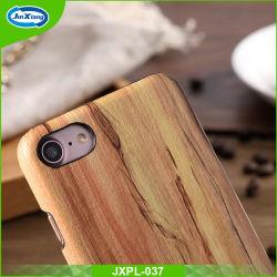 Pour l'iPhone 7 TPU PC Phone cas du bois, bois de couvercle de boîtier de téléphone personnalisée pour iPhone 7