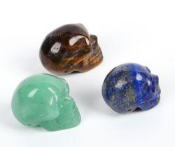 На заводе оптовой мини ремесел подарок природных драгоценных камней Quartz Crystal Skull