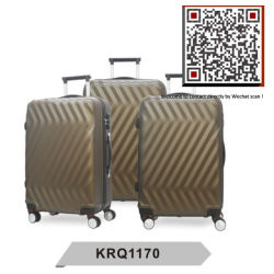 Impermeable de plástico ABS resistente Hard Shell viajar Trolley maletas