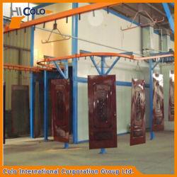 Hohe Produktions-Puder-Beschichtungsanlage für Aluminiumlegierung-Tür