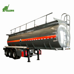 42-50 Cbm-gefährlicher flüssiger Sammelbehälter-Schlussteil-chemischer saurer Tanker-Schlussteil