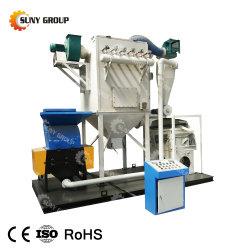 Câble de mise au rebut de fil de cuivre granulateur concassage machine de recyclage de cuivre