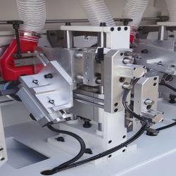Panel de borde automático de la Carpintería muebles Bander BM 4un colchón máquina de cinta de borde de la máquina de fabricación del gabinete de la red