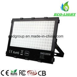 Impermeável ao ar livre 200W SMD Holofote LED de alta potência