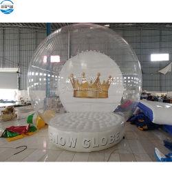 4m Dia 크리스마스 휴일 사건 D를 위한 팽창식 인간적인 눈 지구 사진 프레임 장비