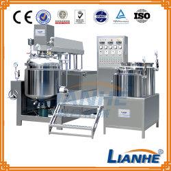500L emulsionar homogeneizador mezclador al vacío Emulsionante para Cosmética crema/ungüento