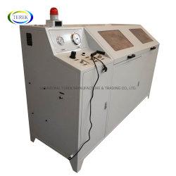 Pneumatische hydrostatische Prüfbank und Wasserdruckprüfanzeige für Schlauch und PVC-Rohr Hydro Testpumpe