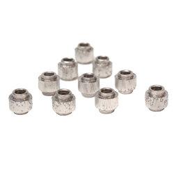 Pour diamond diamant fritté de perles sur le fil de découpe toutes sortes pierre naturelle et de Matériaux de génie civil