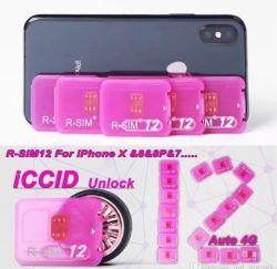 新しい到着はiPhone7 iPhone8 Ios11のためのカードR SIM 12ターボをロック解除する