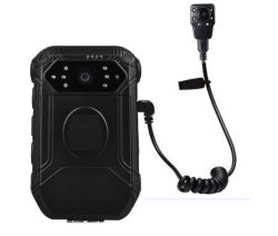 1080 Corps de police de caméra de surveillance usés avec GPS WiFi 4G