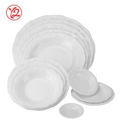 Topo de gama como cerâmica Restaurante Arcfresh Dinnerware Placas Oval