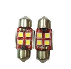 Selbstinnenauto-Licht T10 PFEILER 4 SMD 5050 LED Chips Canbus
