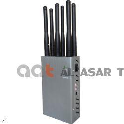 6CH 소형 휴대용 이동할 수 있는 셀 방식 2g 3G 4G Lte GSM CDMA WiFi Bluetooth GPS 신호 차단제, 방해기