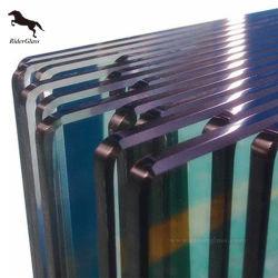 12mm des portes en verre incassable moderne en verre trempé teinté