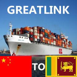 نقل البضائع من الصين إلى كولومبو بسريلانكا
