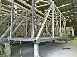 Brug van de Lucht van de Opbrengst van de Structuur van het Staal van de Installatie van lage Kosten de Snelle