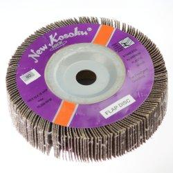 クリーニングのための研摩のツールの折り返しの車輪