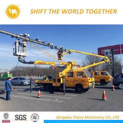 Plate-forme de travail de l'antenne à haute altitude pour lampe de travail de la rue de l'entretien du chariot