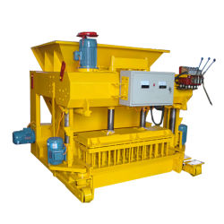 Bewegliche konkrete hohle Maschine des Ziegelstein-Qmy6-25 mit hydraulischem