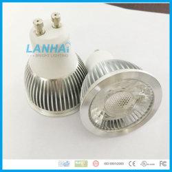 アルミニウム軽いコップ5Wの穂軸MR16/E27/GU10/Gu5.3 LEDのスポットライト