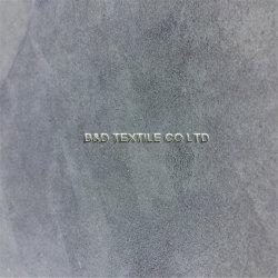 Hlht Oktex anerkanntes Sofa-Polsterung-Gewebe für Hauptgewebe, Polyester100 faux-Veloursleder-Gewebe