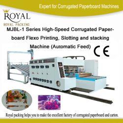 細長い穴がつき、スタック・マシンとのボール紙のFlexoの高速印刷