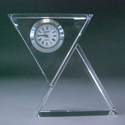 Relógio de mesa de Vidro cristal moder assistir